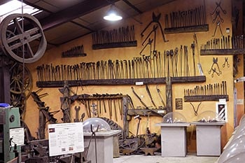 Museum of the Laguiole's knife, former tools and objects
