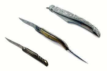 Museum of Laguiole's knife, firts Laguiole's knives